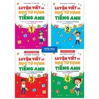 Combo Luyện Viết Và Học Từ Vựng Tiếng Anh Lớp 1, 2, 3, 4 Theo Giáo Trình Family And Friends Special Edition (Bộ 4 Cuốn)