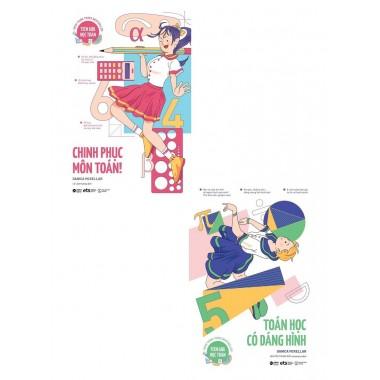 Combo Teen Girl Học Toán Girls Get Curves - Toán Học Có Dáng Hình + Chinh Phục Môn Toán (Bộ 2 Cuốn)