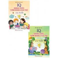 Combo IQ Đánh Thức Tiềm Năng Của Trẻ 2 Đến 6 Tuổi (Bộ 2 Tập)