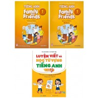 Tiếng Anh Lớp 1 - Family And Friends National Edition Kèm Luyện Viết