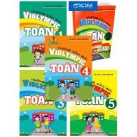 Combo Hướng Dẫn Giải Violympic Toán Lớp 1, 2, 3, 4, 5 (Bộ 5 Cuốn)