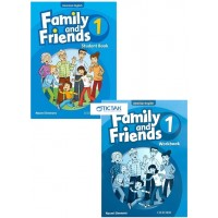 Combo Family And Friends American English Edition 1 (Student Book + WorkBook)
