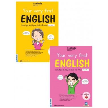 Combo Tự Học Nghe Nói Tiếng Anh Chuẩn Dễ Nhanh (Tập 1 + Tập 2)