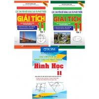 Combo Các Chuyên Đề Nâng Cao Và Phát Triển Giải Tích + Hình Học Lớp 11