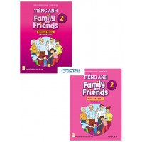 Combo Tiếng Anh Lớp 2 - Family And Friends National Edition 2 (Student Book + Work Book)