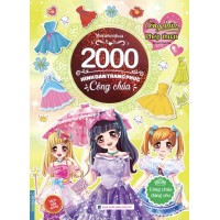 2000 Hình Dán Trang Phục Công Chúa - Công Chúa Đáng Yêu