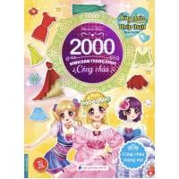 2000 Hình Dán Trang Phục Công Chúa - Công Chúa Mộng Mơ