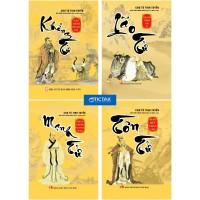 Combo Khổng Tử + Mạnh Tử + Lão Tử + Tôn Tử (Bộ 4 Cuốn)