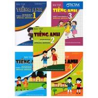 Combo Bài Tập Tiếng Anh Lớp 1, 2, 3, 4, 5 (Biên Soạn Theo Bộ Sách Family And Friends Special Edition)