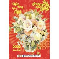 Lịch Bloc Trung Màu 2022 (10.5 x 14.5 cm)