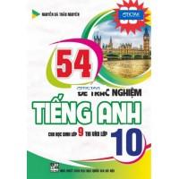 54 Đề Trắc Nghiệm Tiếng Anh (Cho Học Sinh Lớp 9 Thi Vào Lớp 10)