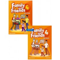 Combo Family And Friends 4 (Class Book + WorkBook)