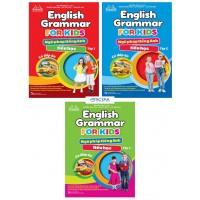 Combo English Grammar For Kids - Ngữ Pháp Tiếng Anh Tiểu Học (Bộ 3 Cuốn)